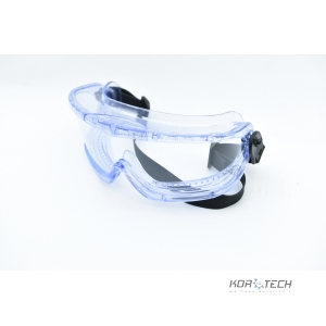 Protective glasses resistant to solvent